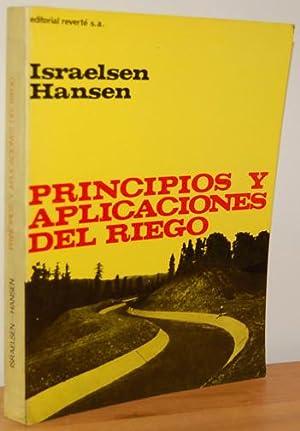 PRINCIPIOS Y APLICACIONES DEL RIEGO. Obra que: ORSON W. ISRAELSEN,