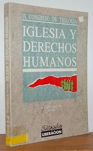 IX Congreso de Teología. IGLESIA Y DERECHOS: VV.AA.
