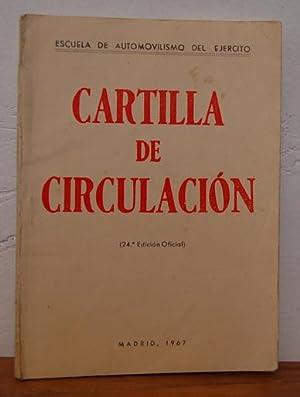 CARTILLA DE CIRCULACIÓN: ESCUELA DE AUTOMOVILISMO