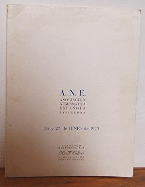 ASOCIACIÓN NUMISMÁTICA ESPAÑOLA. Catálogo Subasta Social 26: X. y F.