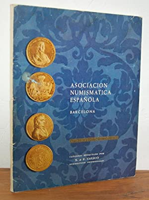 ASOCIACIÓN NUMISMÁTICA ESPAÑOLA. Catálogo Subasta Social 20,: X. y F.