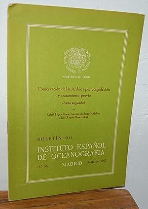 Boletín del Instituto Español de Oceanografía, nº: RAFAEL LÓPEZ COSTA,