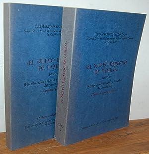EL NUEVO DERECHO DE FAMILIA (2 Vol.): LUIS MARTÍNEZ-CALCERRADA