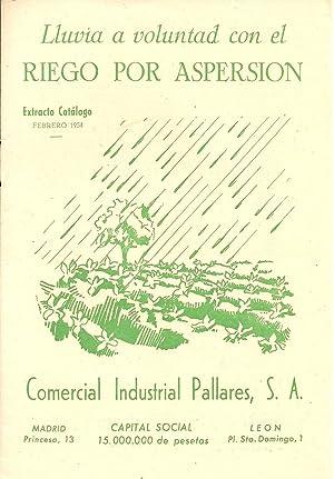 Lluvia a voluntad con el RIEGO POR: CORPORATIVO