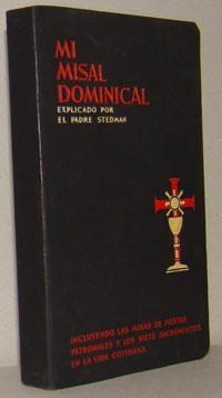 MI MISAL DOMINICAL: JOSÉ F. STEDMAN