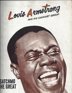 LOUIS ARMSTRONG AND HIS CONCERT GROUP, SOUVENIR BOOK