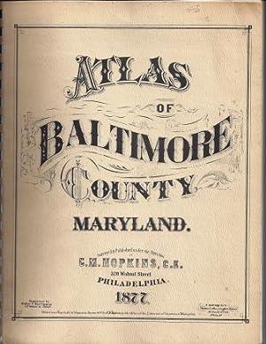 ATLAS OF BALTIMORE, 1877: C.M. Hopkins