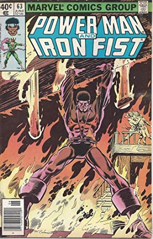 BLACK COMIC BOOK HEROES, 1970s and 80s. POWERMAN AND IRON FIST