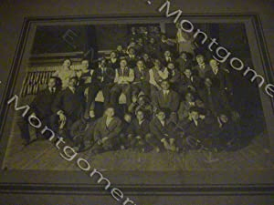 PHOTO OF GROUP OF BLACK BOYS IN A GYM, circa 1915-1925