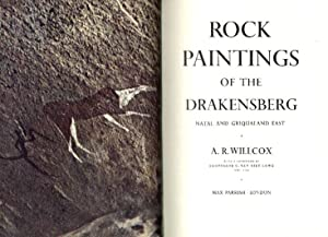 Rock Painting of the Drakensberg. Natal and Griqualand East.