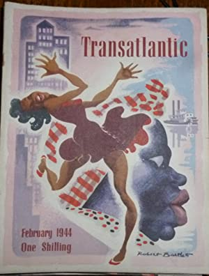 Transatlantic Magazine. Volume 1. Number 6. February 1944. Very Good/Fine, in Pictorial Wrappers.