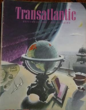 Transatlantic Magazine. Number 13, September 1944. Very Good/Fine, in Pictorial Wrappers.