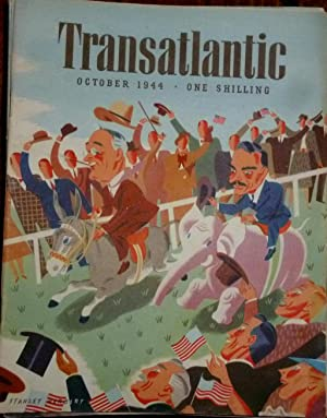 Transatlantic Magazine. Number 14, October 1944. Very Good/Fine, in Pictorial Wrappers.