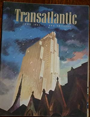 Transatlantic Magazine. Number 22, June 1945. Very Good/Fine, in Pictorial Wrappers.