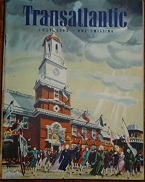 Transatlantic Magazine. Number 23, July 1945. Very Good/Fine, in Pictorial Wrappers.