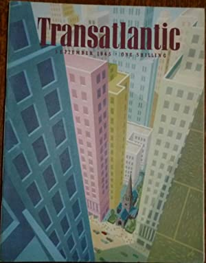 Transatlantic Magazine. Number 25, September 1945. Very Good/Fine, in Pictorial Wrappers.