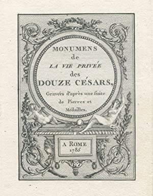Monumens de la vie privée des douze: HANCARVILLE Pierre-Francois Hugues