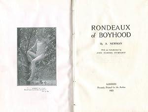 Rondeaux of Boyhood: NEWMAN, A. [MURRAY,