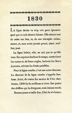 1830: CREVEL, René