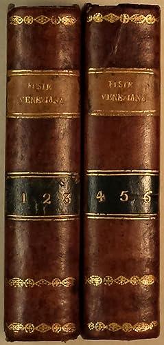 Origine delle feste veneziane di Giustina Renier Michiel. Volume primo (-sesto): Renier Michiel, ...