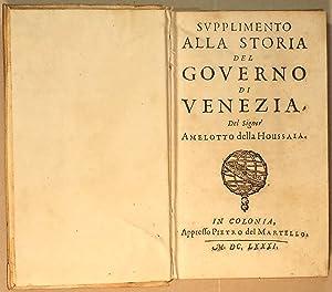 Supplimento alla storia del governo di Venezia: Amelot de la
