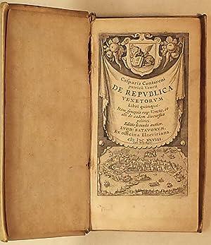 De Republica Venetorum libri quinque.: Contarini Gasparo