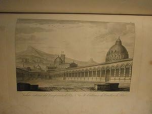Pitture a Fresco del Camposanto di Pisa disegnate da Giuseppe Rossi ed incise dal prof. cav. G. P. ...