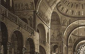 La R. Basilica di S. Marco esposta: Lazzari Antonio; Piazza