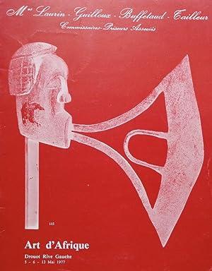 Art d'Afrique: Mes Laurin-Guilloux-Buffetaud-Cailleur, 05-06-13/05/1977