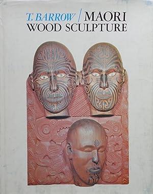 Maori Wood Sculpture of New Zealand: T. Barrow