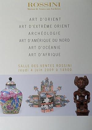 Art d'Orient, Art d'Extrême Orient, Archéologie, Art: Rossini maison de