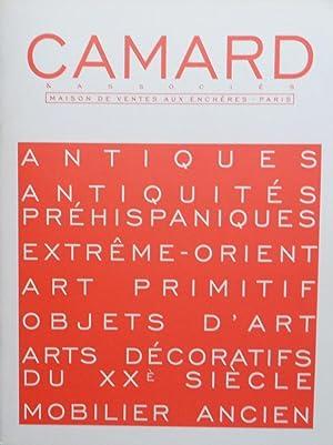 Antiques, Antiquités, Préhispaniques, Extrême-Orient, Art Primitif.: Camard & Associés.