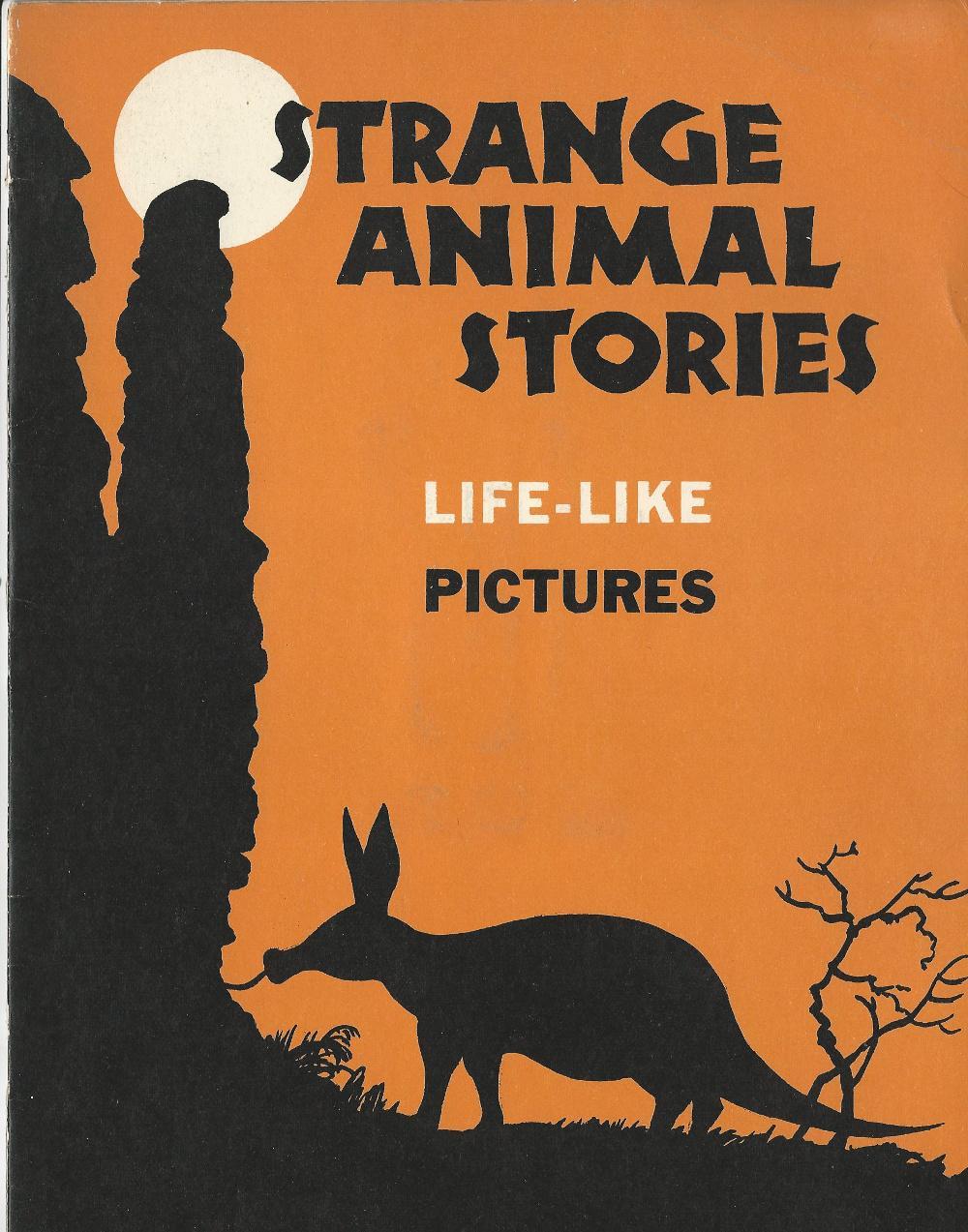 Strange Animal Stories, Pictures in Third Dimension Novelty. McKenna, Helen Very Good