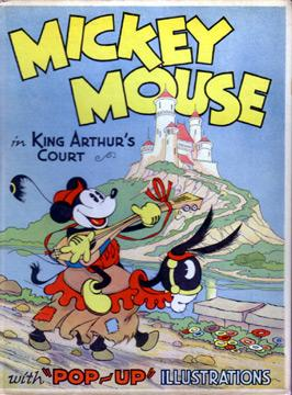 Mickey Mouse in King Arthur's Court (In: Pop Up.(Disney)