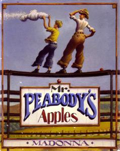 Mr. Peabody's Apples (Inscribed By Illustrator): Madonna; Illustrated By