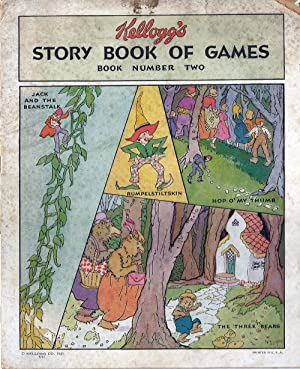 Kellogg's Story Book of Games, Book Number: Fairy Tales. Advertising
