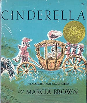 Cinderella, or the Little Glass Slipper (Caldecott Medal, Inscribed)