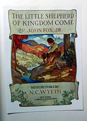 Little Shepherd of Kingdom Come (Signed Limited: Wyeth, N. C.
