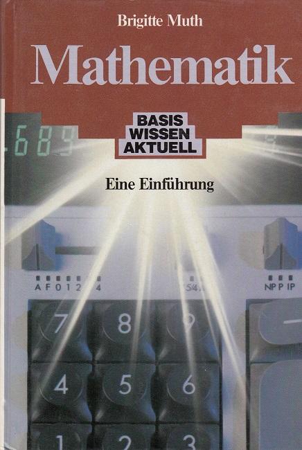 Mathematik eine von brigitte muth zvab for Brigitte versand deutschland