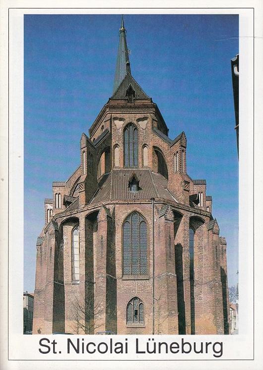 St. Nicolai in Lüneburg. Große Baudenkmäler ;: Osterhausen, Fritz von: