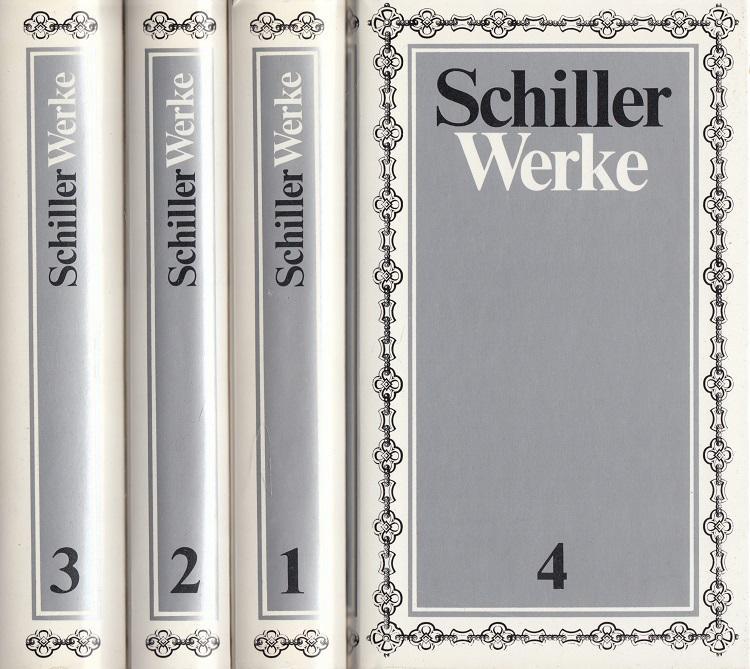 Werke in vier Bänden. - Schiller, Friedrich