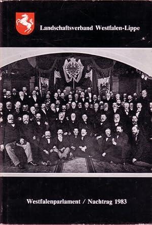 Die Abgeordneten des Westfalenparlamentes 1826 - 1978: Häming, Josef: