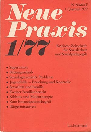 Neue Praxis Heft 1 / 1977 -: Eyferth, Paul Hanns