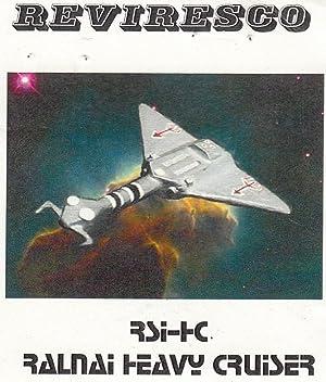 Ralnai Heavy Cruiser Raumschiff 1:1200-2 Zinnmodelle Starguard Science Fiction