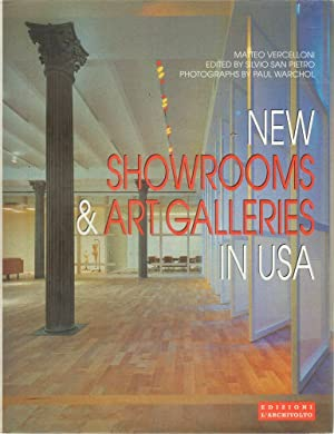 NEW SHOWROOMS & ART GALLERIES IN USA GRAFICA/DESIGN ed. L'Archivolto 1999
