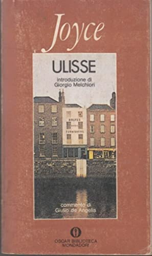 ULISSE Vol. 1 di James Joyce ed. Mondadori 1978