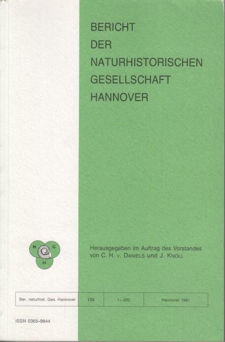Bericht der Naturhistorischen Gesellschaft Hannover Bericht 133.: Daniels, C. H.