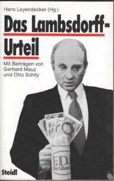 Das Lambsdorff-Urteil. (Hg.). Mit Beitr. von Gerhard: Leyendecker, Hans:
