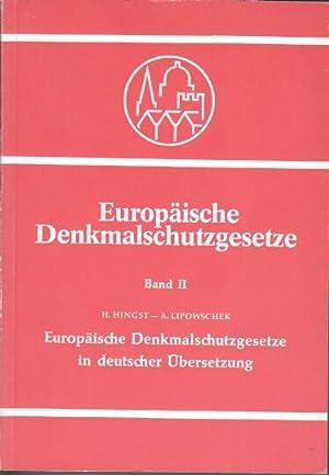 Europäische Denkmalschutzgesetze in deutscher Übersetzung. Europäische ...