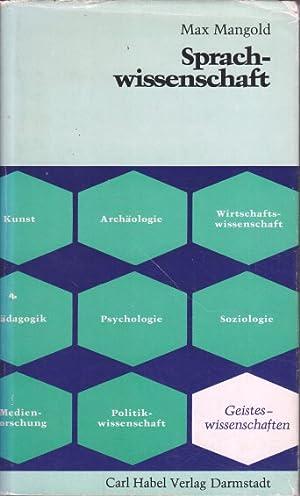Sprachwissenschaft.: Mangold, Max:
